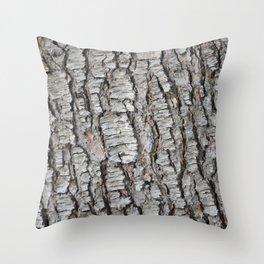 TEXTURES -- Spruce Bark Throw Pillow