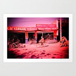 Bicicletas Art Print