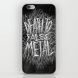 FALSE METAL iPhone Skin