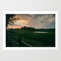 Kansas City Countryside Art Print