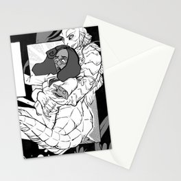 The Creature Stationery Cards