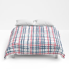 4th of July Skinny Gingham Comforters