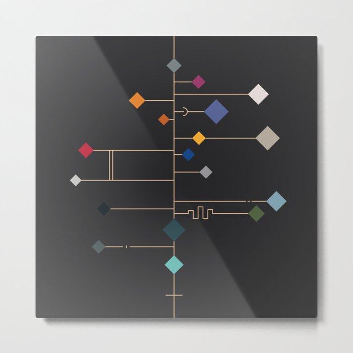 winter equinox Metal Print