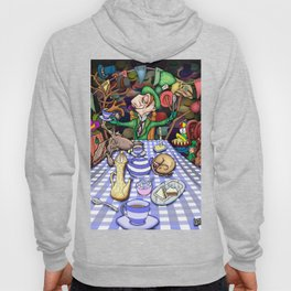 Mad Hatter's Tea Party Hoody