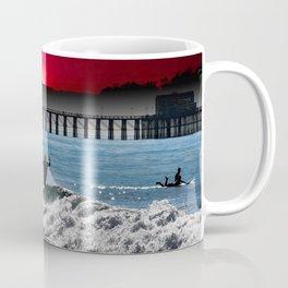 CLOSE OUT RED SUNSET Coffee Mug