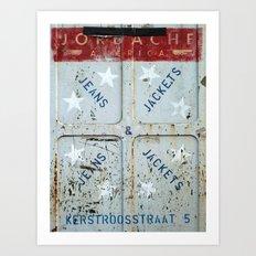 Jordache America Art Print
