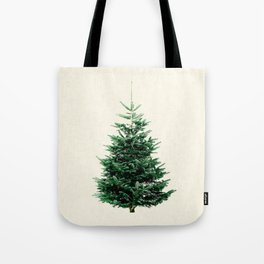 Christmas tree, a stylish alternative to a traditional one. Tote Bag