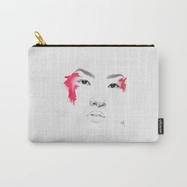 RED WATERCOLOR Carry-All Pouch