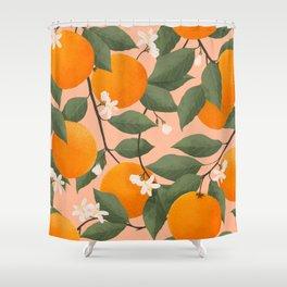 fresh citrus Shower Curtain