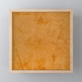 Summer Orange Stucco - Corbin Henry Framed Mini Art Print