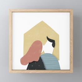 What is home Framed Mini Art Print
