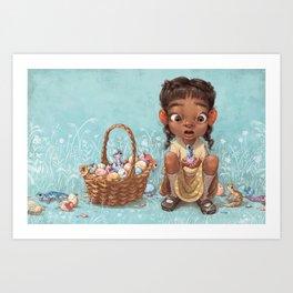Spring Hatching Art Print