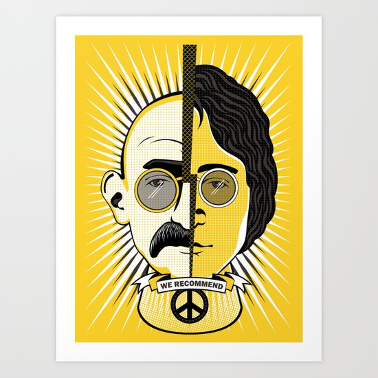We recommend Peace Art Print