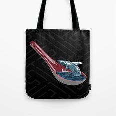 Spoon Watching Tote Bag