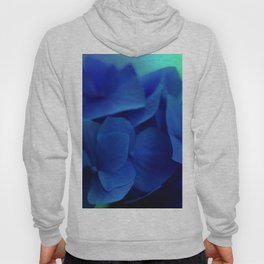 Bluest Blue Flower Hoody