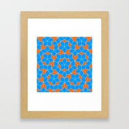 Penrose Tiling Pattern Framed Art Print