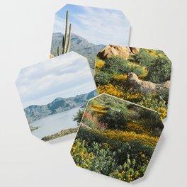 Arizona Blooms Coaster