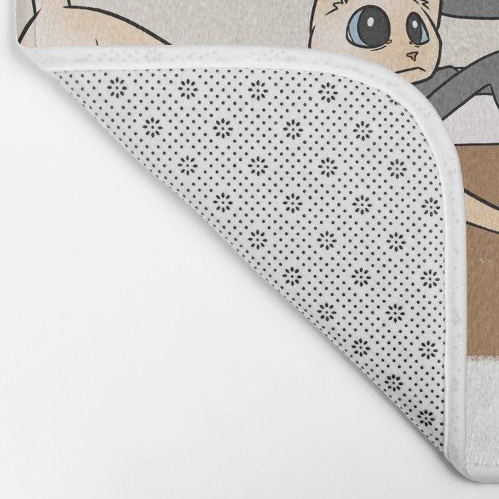Furred Frenzy - Cat Rampage Bath Mat