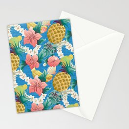 Pineapple Half Drop Stationery Cards