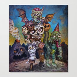 The Master of Monsters Canvas Print