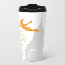The Moment you Doubt whether you can Fly You cease Forever to Be Able to Do It - Art Print Travel Mug