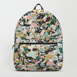 Mixed Modern Shapes / Maximalist Texture Backpack