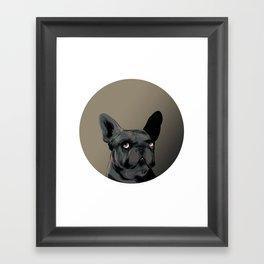 Side Eye Framed Art Print