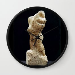A Man & Wife by Shimon Drory Wall Clock