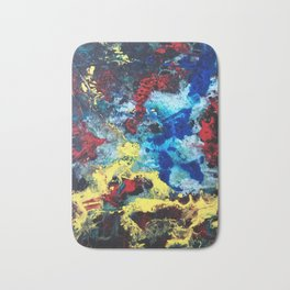The Storm - an abstract impression Bath Mat