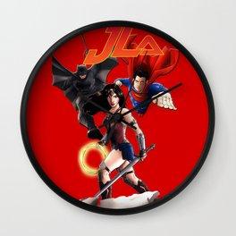DC Trinity JLA Wall Clock