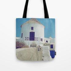 Windmill House III Tote Bag