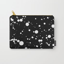 310001 Black and White Painting Carry-All Pouch