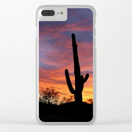 Tucson Tree Clear iPhone Case