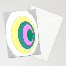 Circles graphic design Stationery Cards
