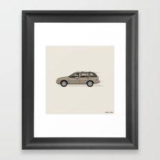 Mobile in the Shop Framed Art Print