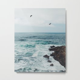 Sea Blue Metal Print