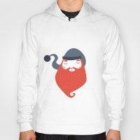 beard Hoodies featuring Beard by Volkan Dalyan