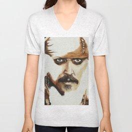 Captain Jack Sparrow Unisex V-Neck