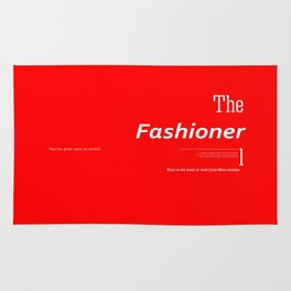 The Fashioner Rug