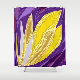 Leaflet's Descent Shower Curtain