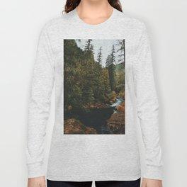 McKenzie River Trail - Blue Pool Long Sleeve T-shirt