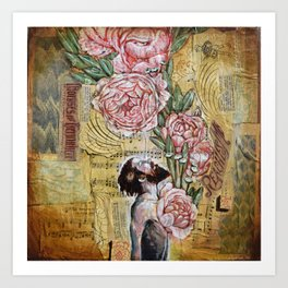 My blooming heart Art Print