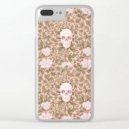 Les Fleurs du mal Clear iPhone Case