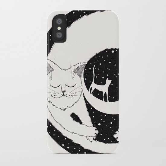 cats life: dreaming iPhone Case