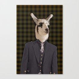 Lord Llama Canvas Print