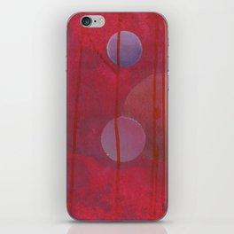 reddish sphere iPhone Skin