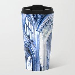 The Blue Abbey Travel Mug