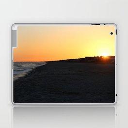 Sundown At Holden Beach Laptop & iPad Skin