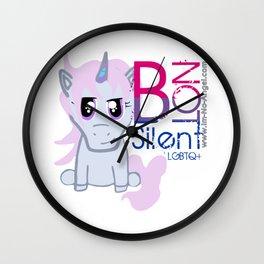 Snark Unicorn-B Not Snt Wall Clock
