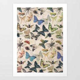 Insect Jungle Art Print
